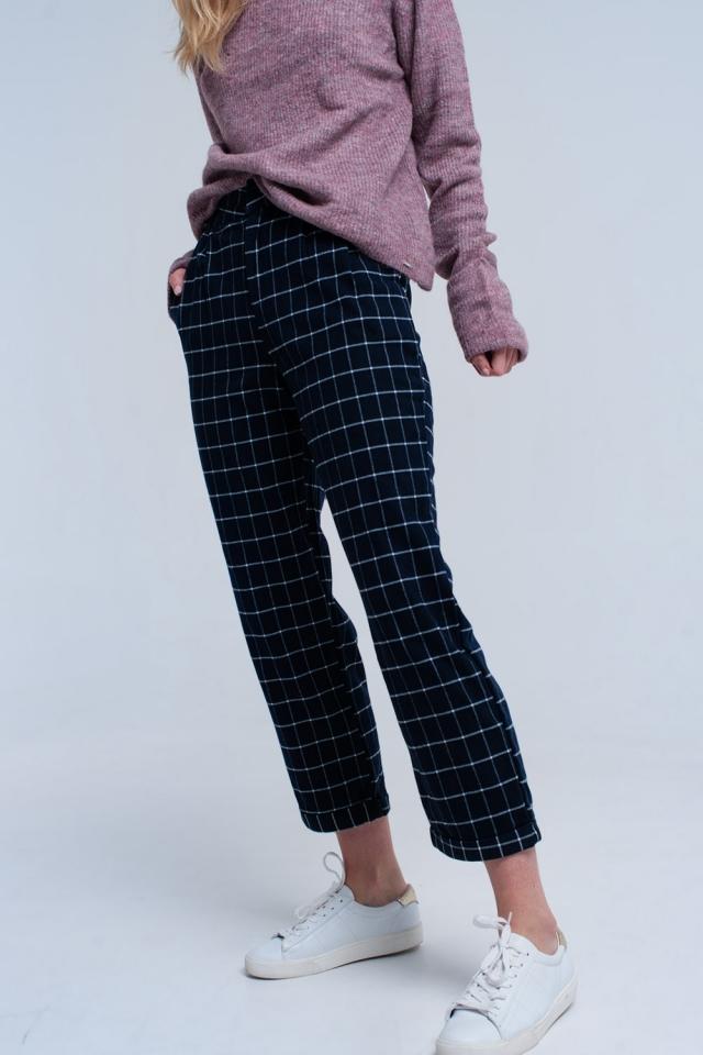 Pantaloni in blu scuro