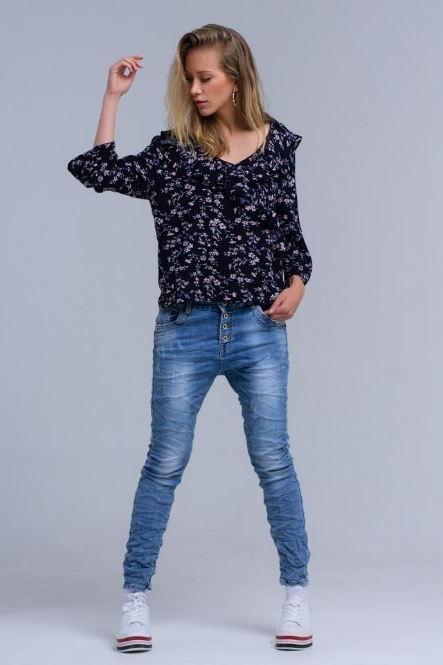 Jeans boyfriend consumati