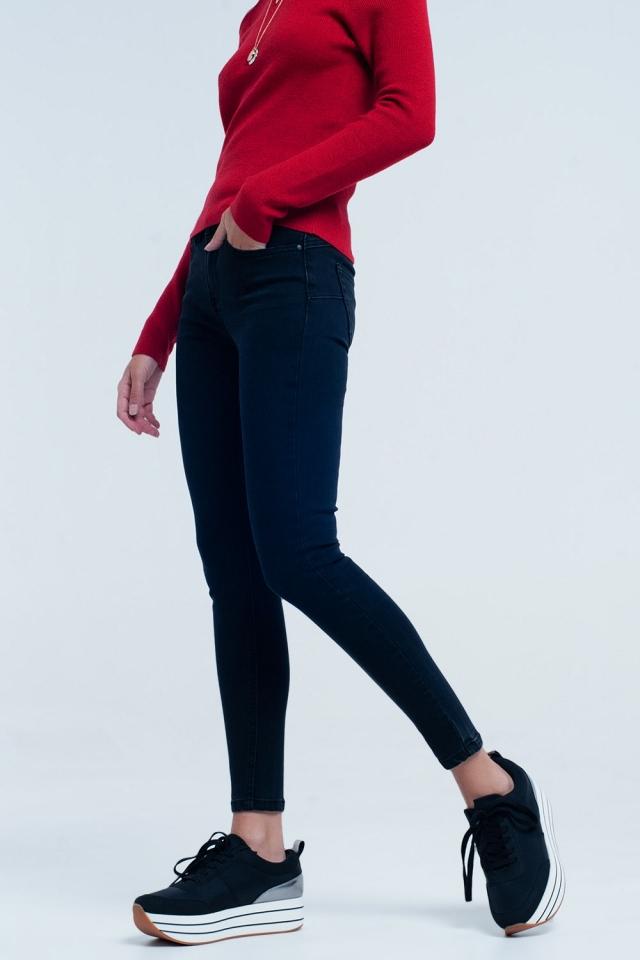 Jeans basic skinny neri