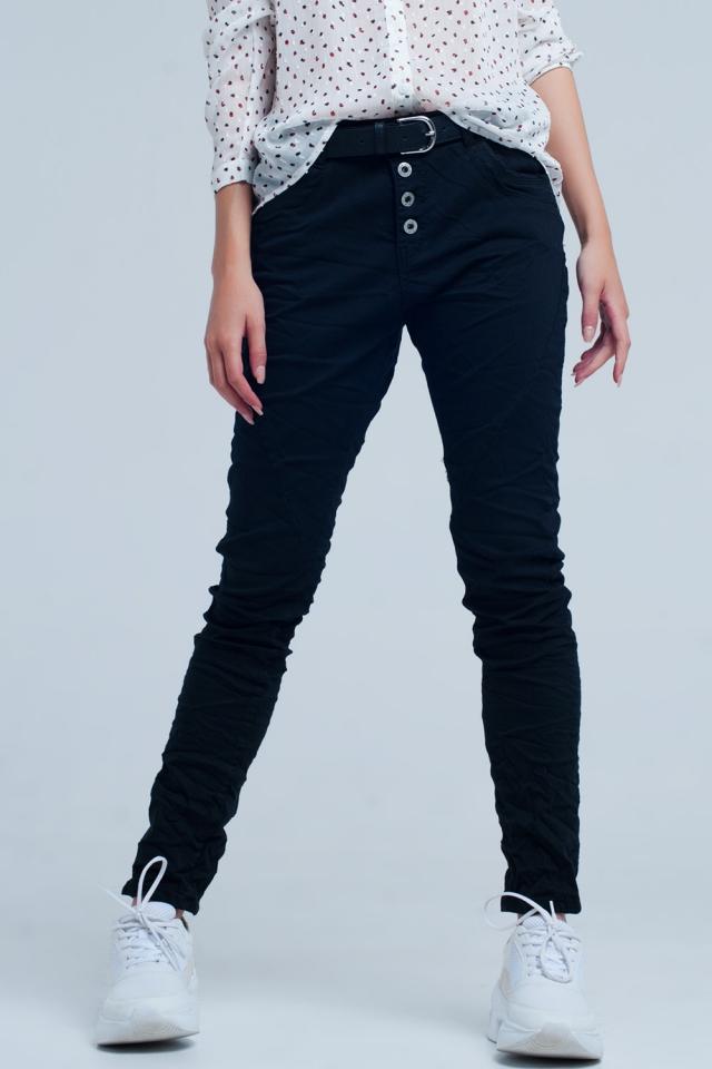 boyfriend Jeans originale nero