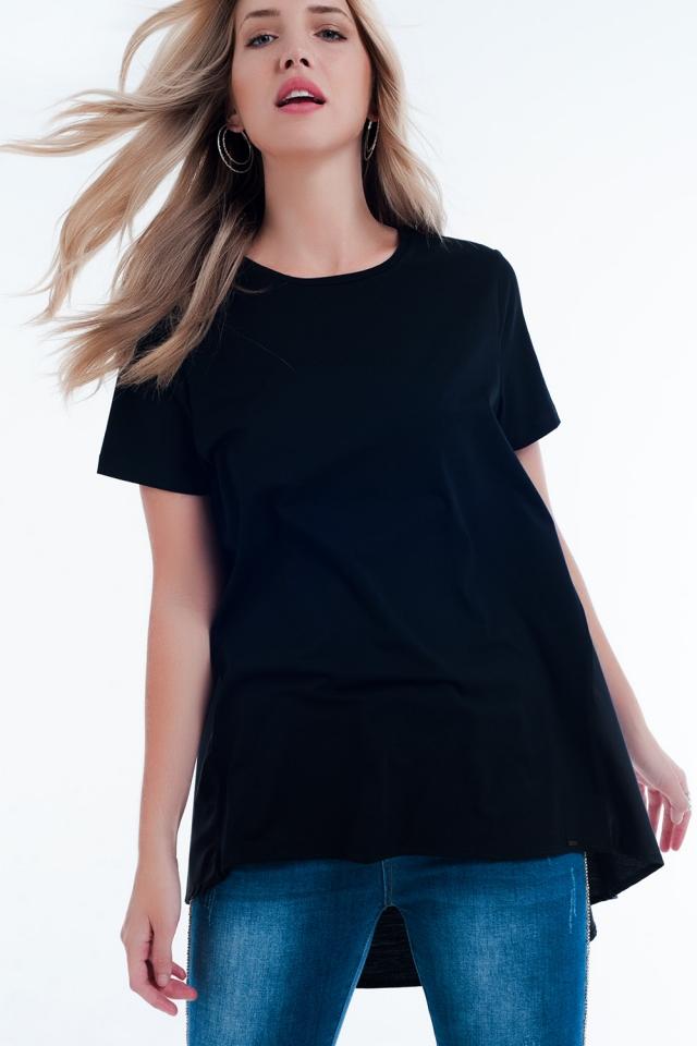 Vestito T-shirt nero
