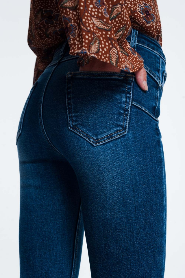 Jeans push-up skinny regular fit