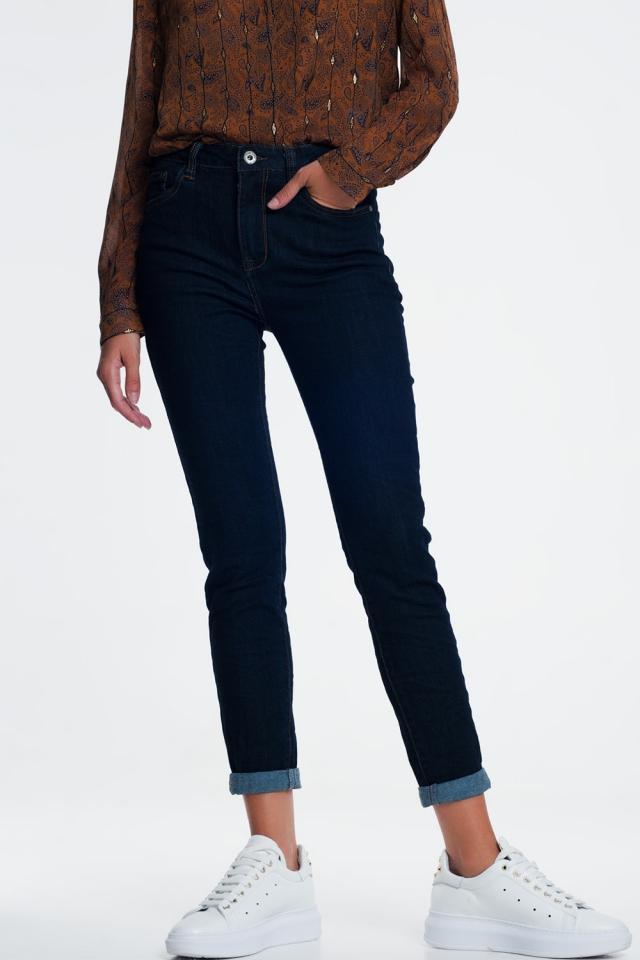 Jeans classici blu inchiostro
