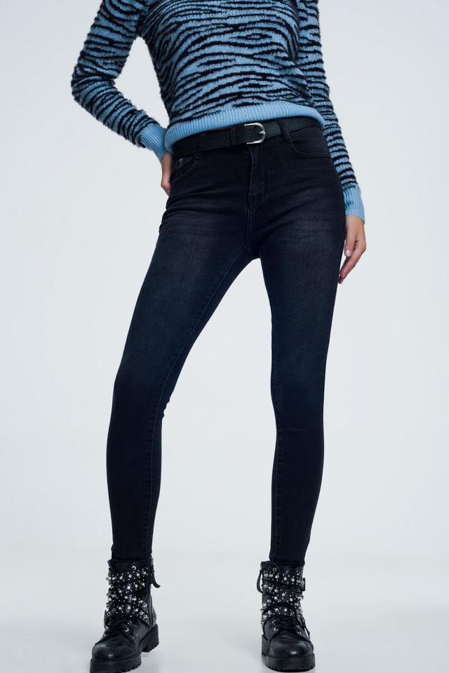 Jeans neri skinny ultra morbidi