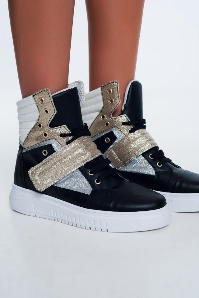 Sneakers alte oro