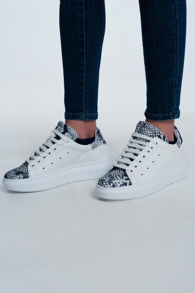 Sneakers misto pitonate