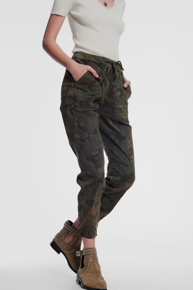Pantaloni militari mimetici
