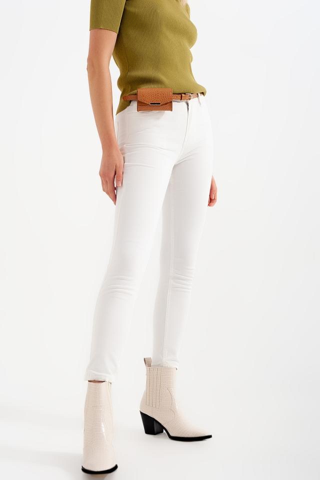 Jeans skinny bianchi