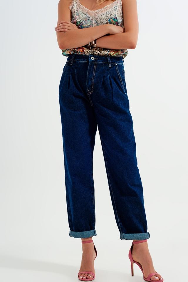 Jeans comodi blu