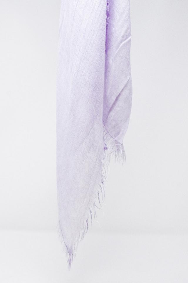 Sciarpa leggera in lilla